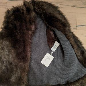 Small Joie Faux Fur Vest